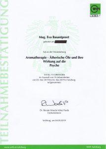 Aromatherapie - Wirkung auf die Psyche