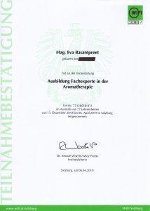 Fachexpertin Aromatherapie
